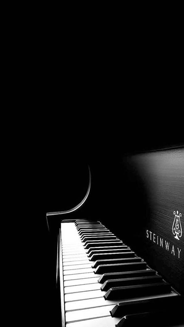 Black Piano iPhone Wallpapers