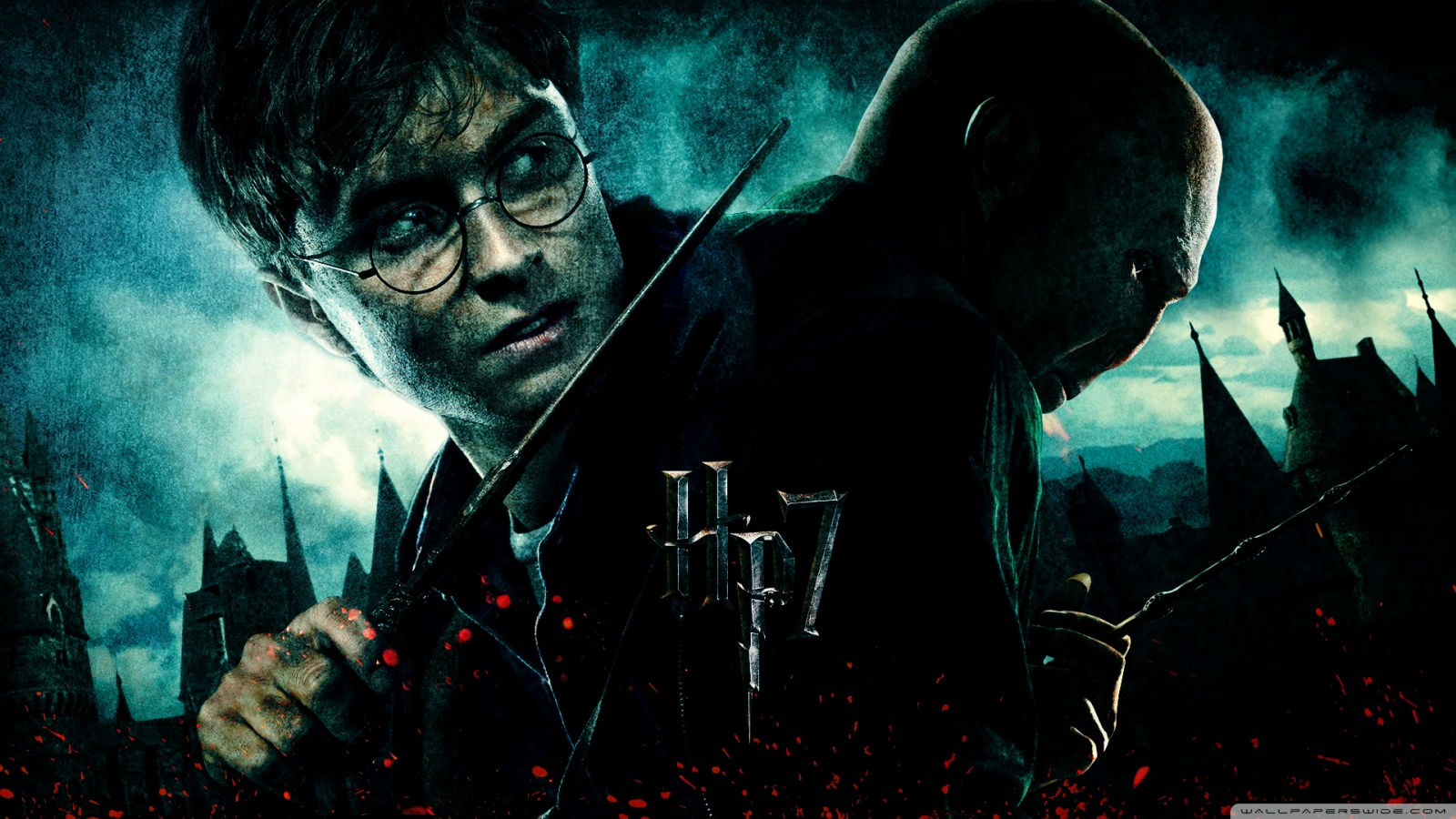harry potter 7 wallpapers
