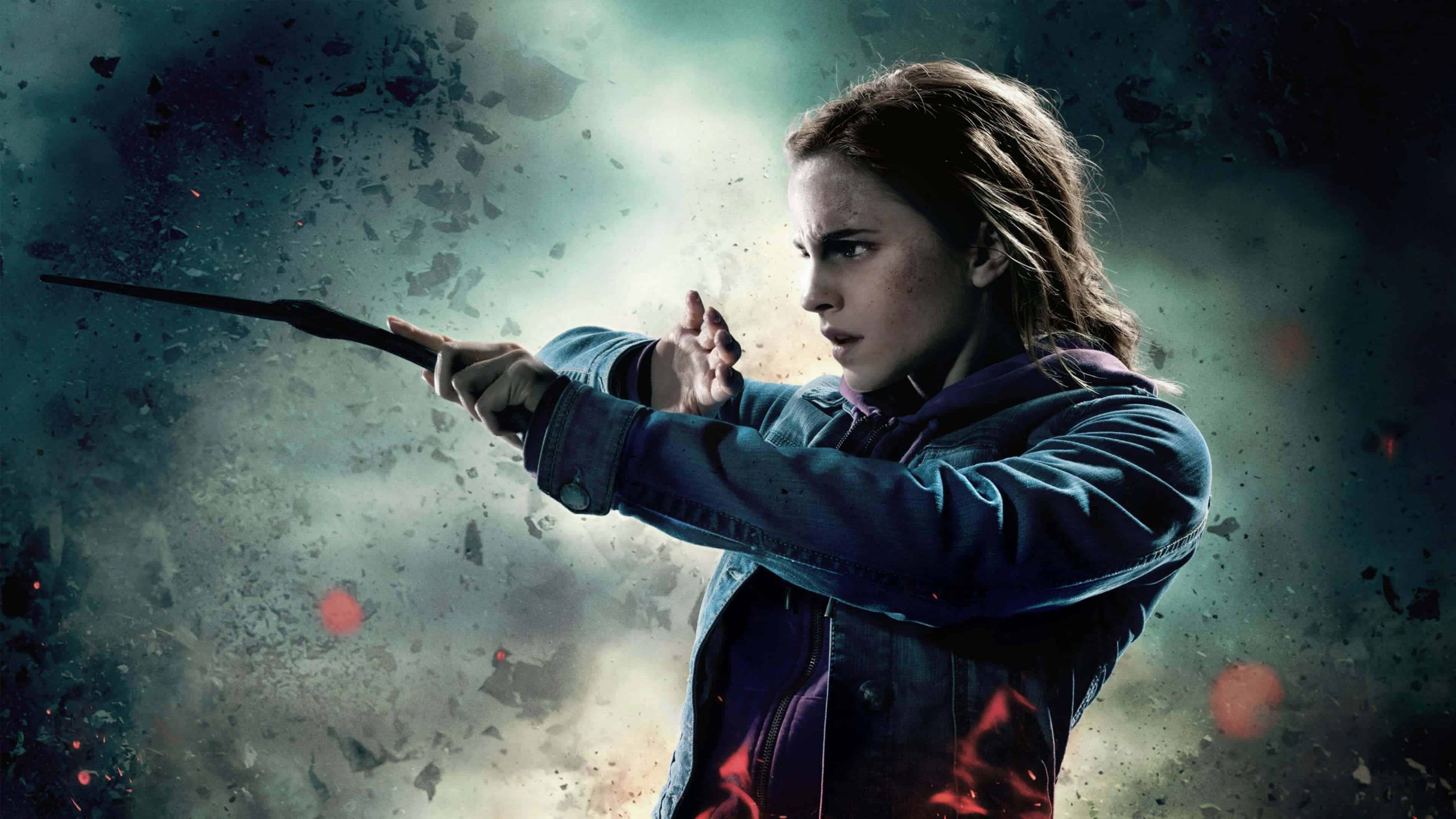 harry potter ly hallows hermione uhd 4k wallpaper