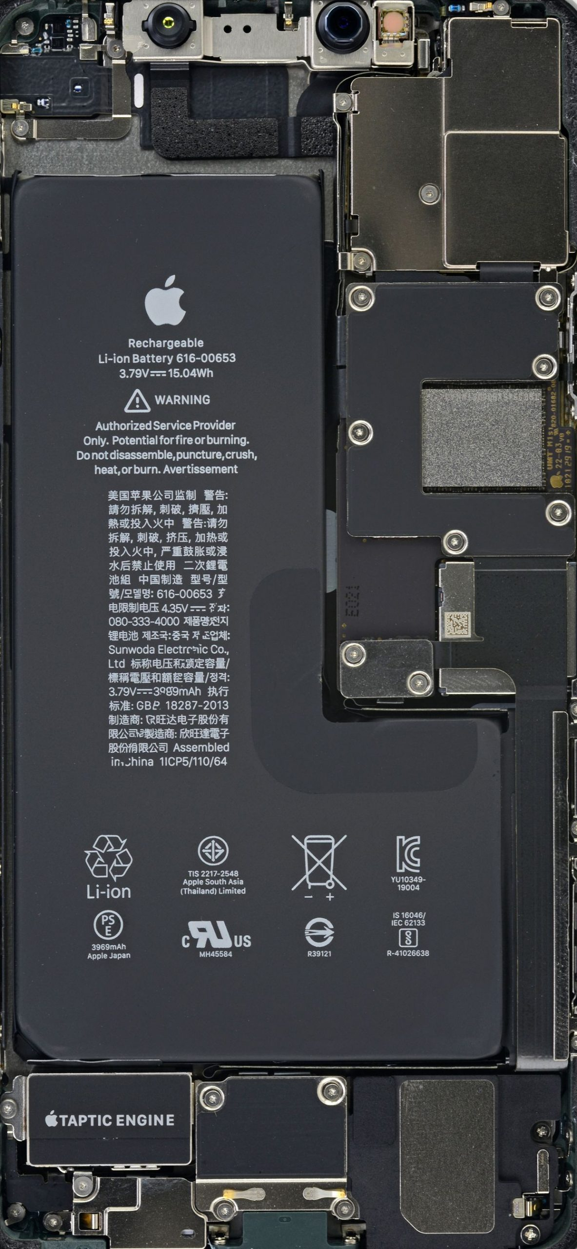 iPhone 11 11 Pro and 11 Pro Max Teardown Wallpapers