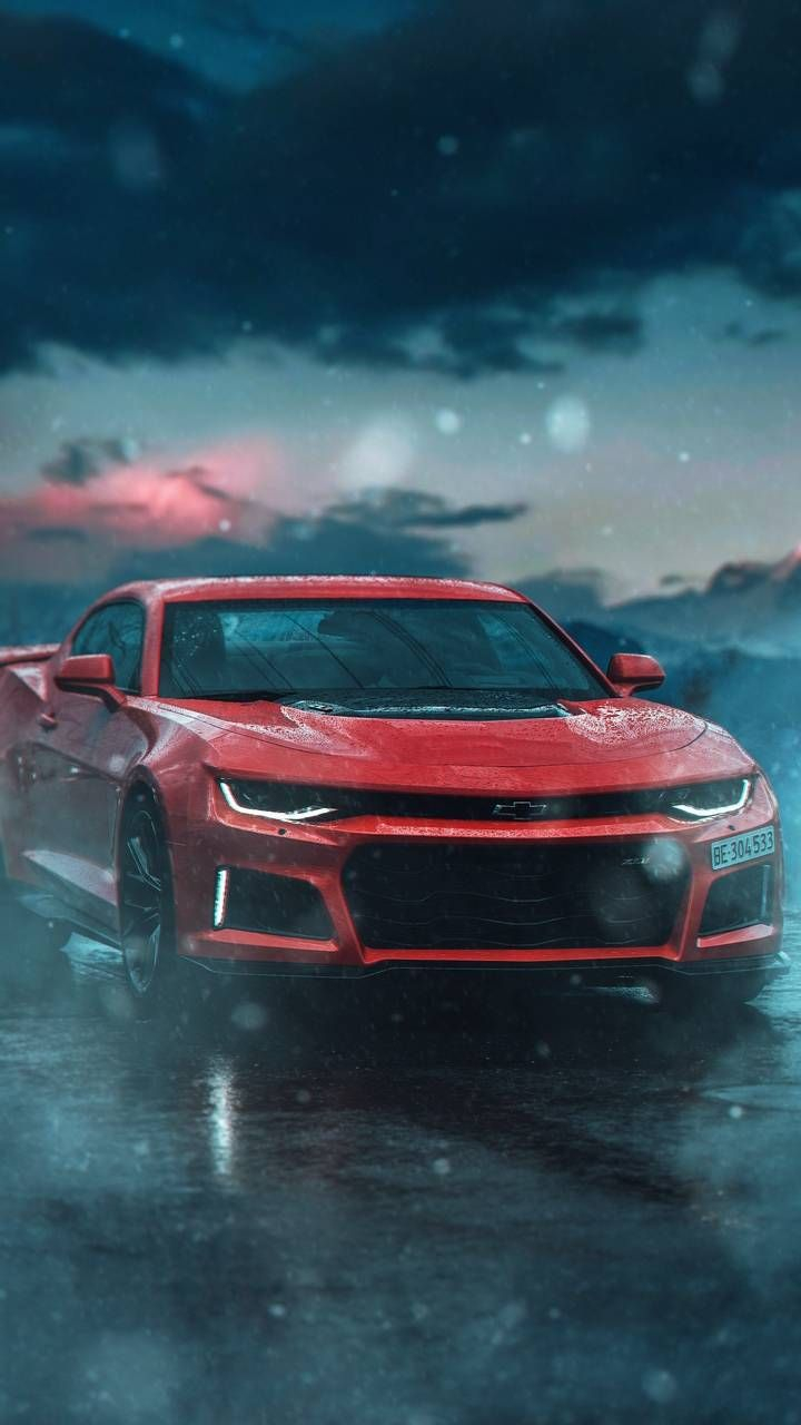 Chevy Camaro Red iPhone Wallpapers