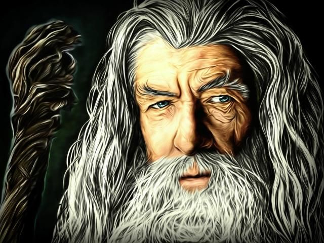 Gandalf The Lord of the Rings Artwork Wallpaper HD Fantasy 4K Wallpapers s and Background