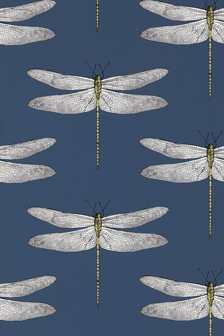 Demoiselle by Harlequin Ink Chartreuse Wallpaper Wallpaper Direct