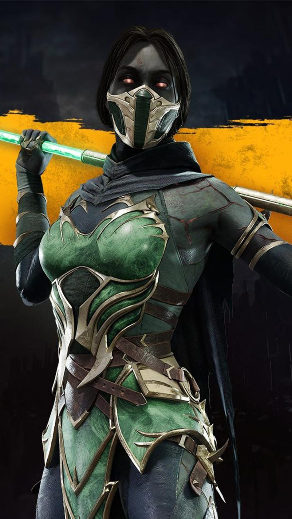 Jade Mortal Kombat 11 4K Ultra HD Mobile Wallpaper