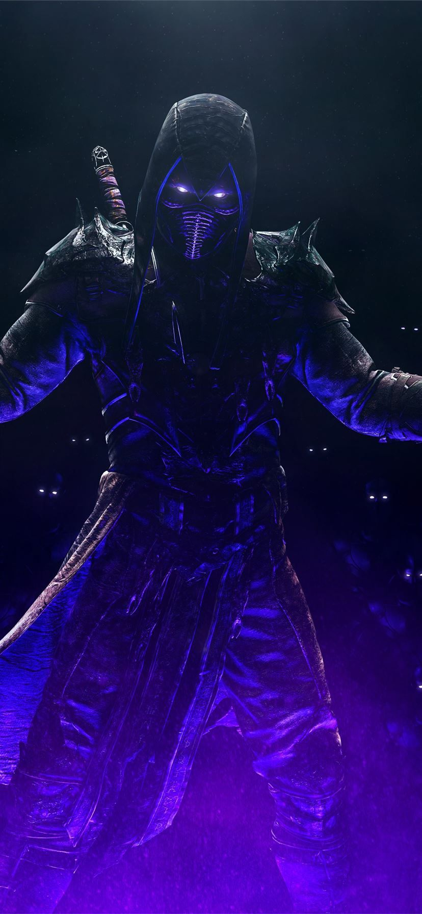 noob saibot mortal kombat 11 iPhone 11 Wallpapers