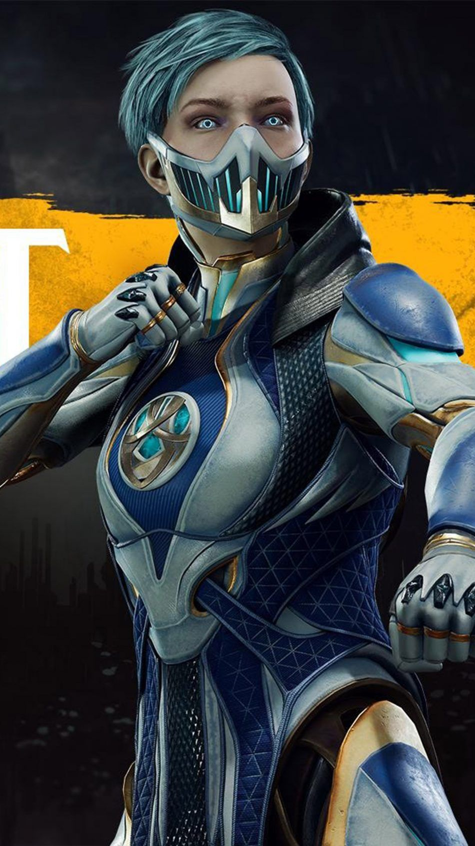 Frost Mortal Kombat 11 4K Ultra HD Mobile Wallpaper