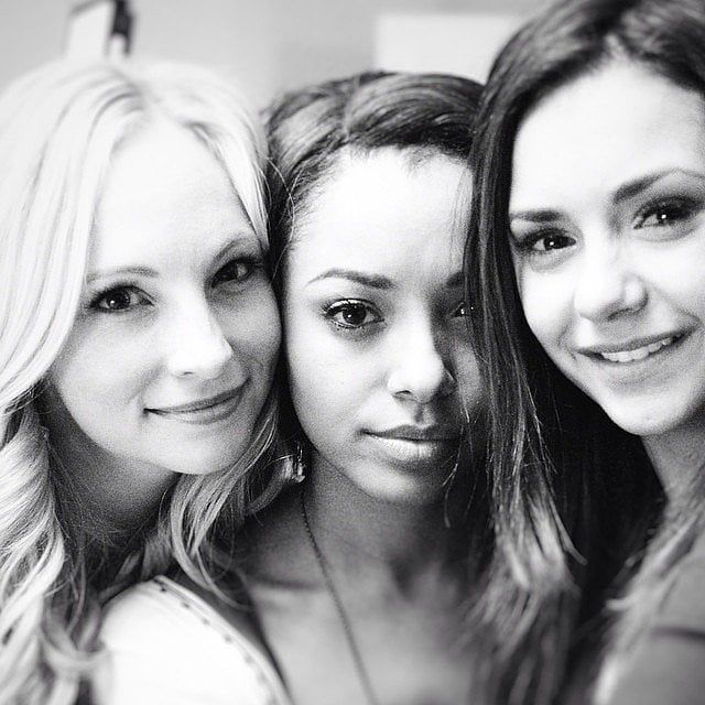 Go Behind the Scenes of Nina Dobrev s Final Days on the Vampire Diaries Set