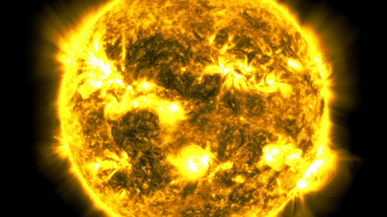 NASA releases incredible 10 year time lapse Sun