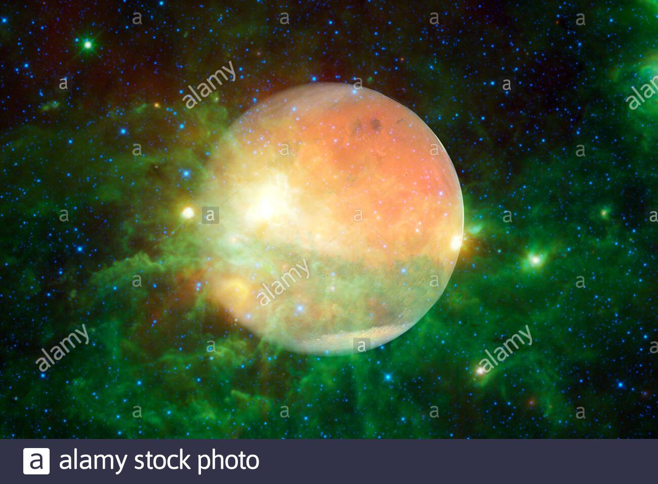 planet mars solar system cosmos art elements of this image furnished by nasa 2CF3HAN