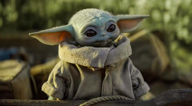 Star Wars Baby Yoda 2 Wallpaper HD TV Series 4K Wallpapers s and Background