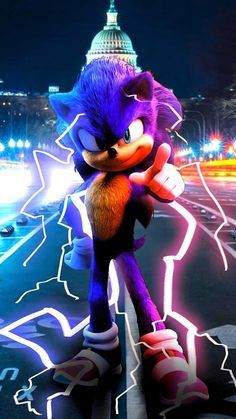sonic power up
