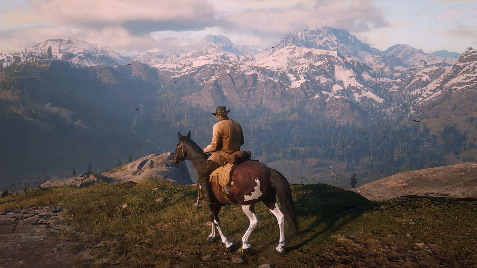 red dead redemption 2 4k wallpapers