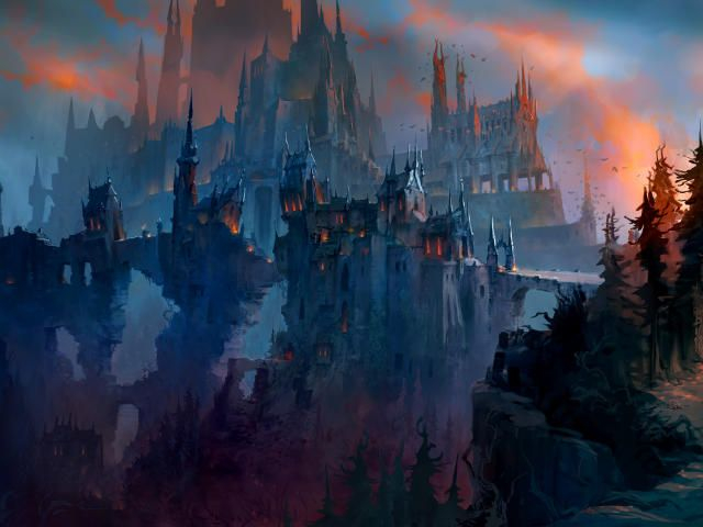 World of Warcraft Shadowlands HD Wallpapers