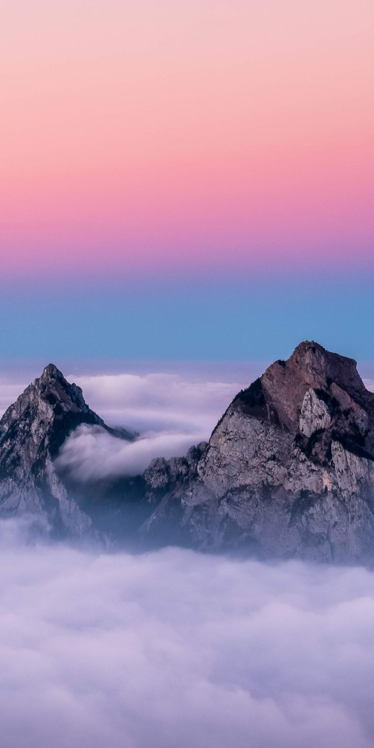 mountain in the heavens