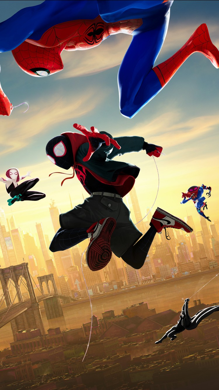 spider man into the spider verse 4k 3 wallpapers