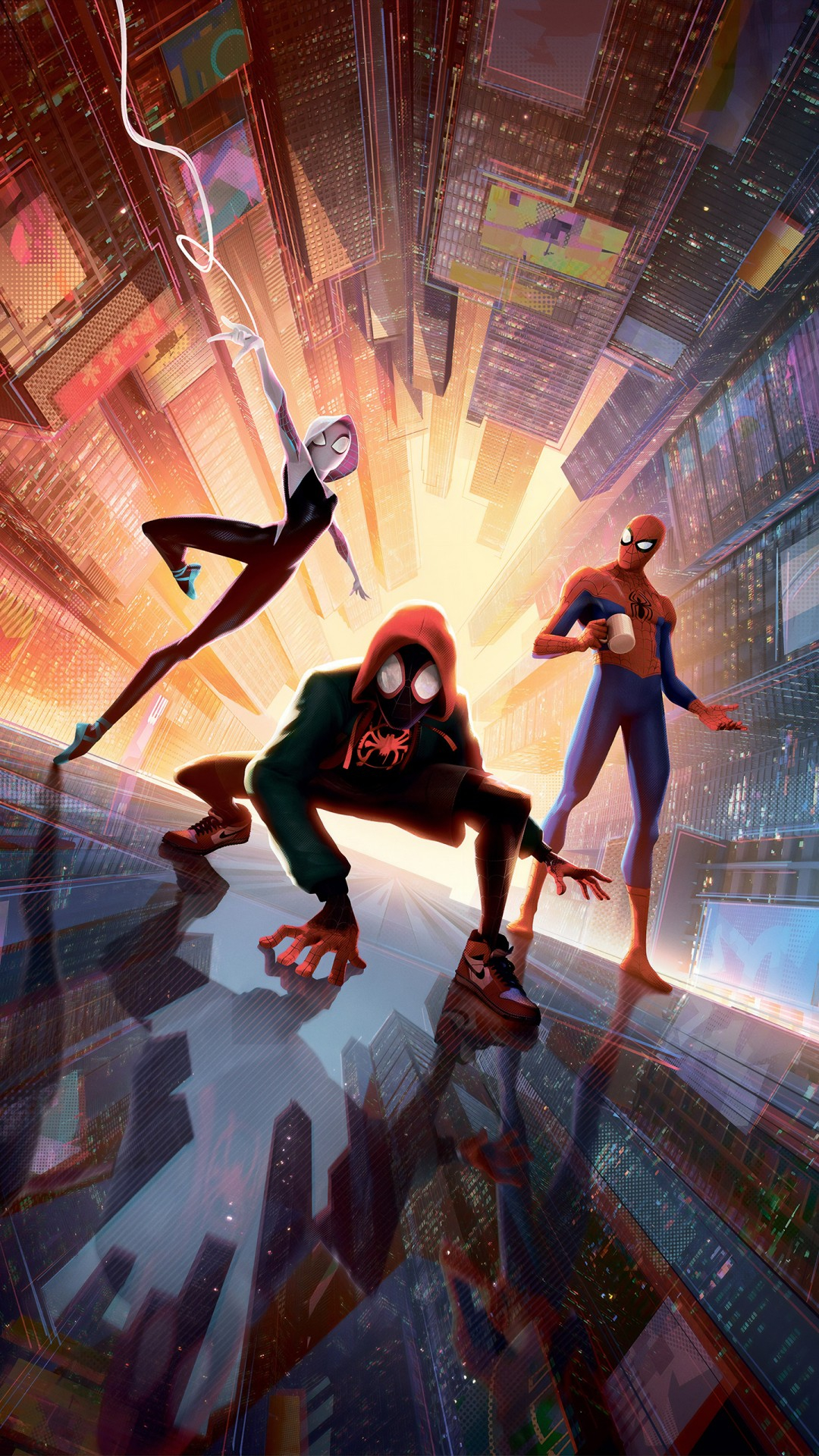 spider man into the spider verse 4k 5k wallpapers