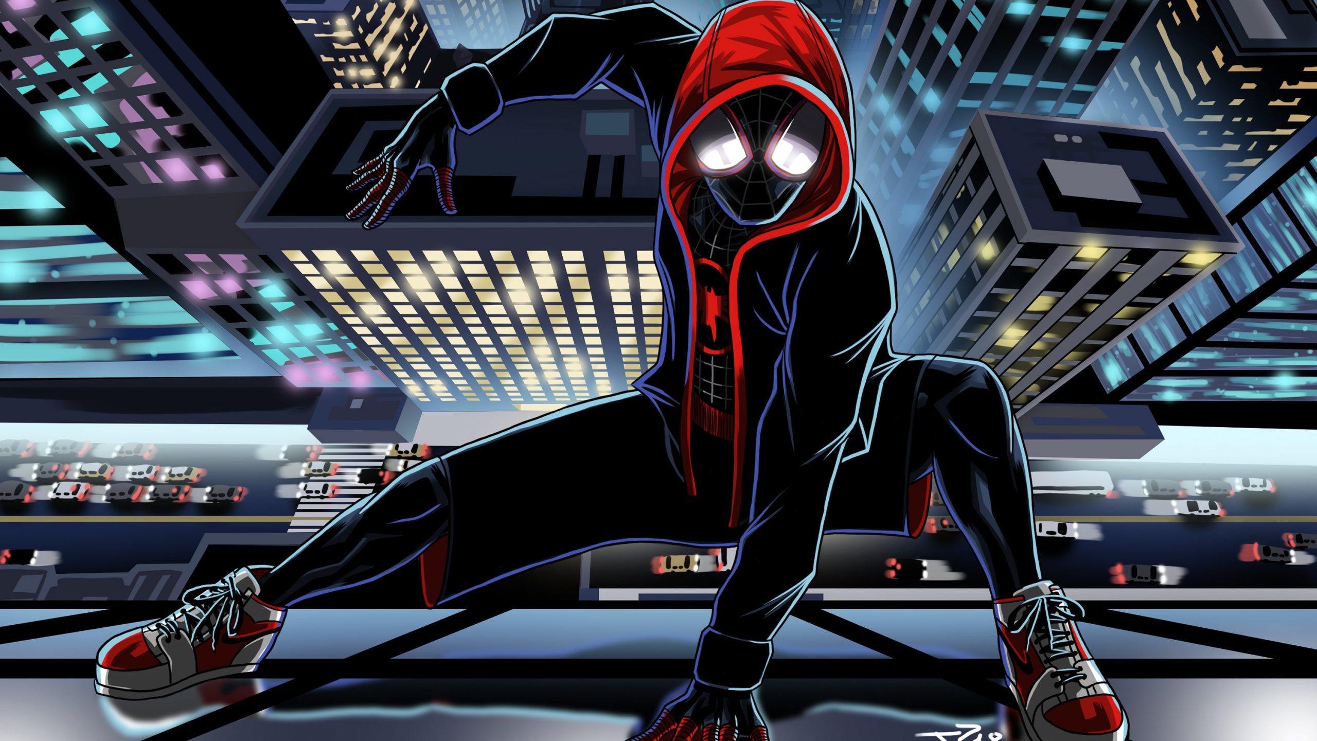 spider man miles morales wallpapers