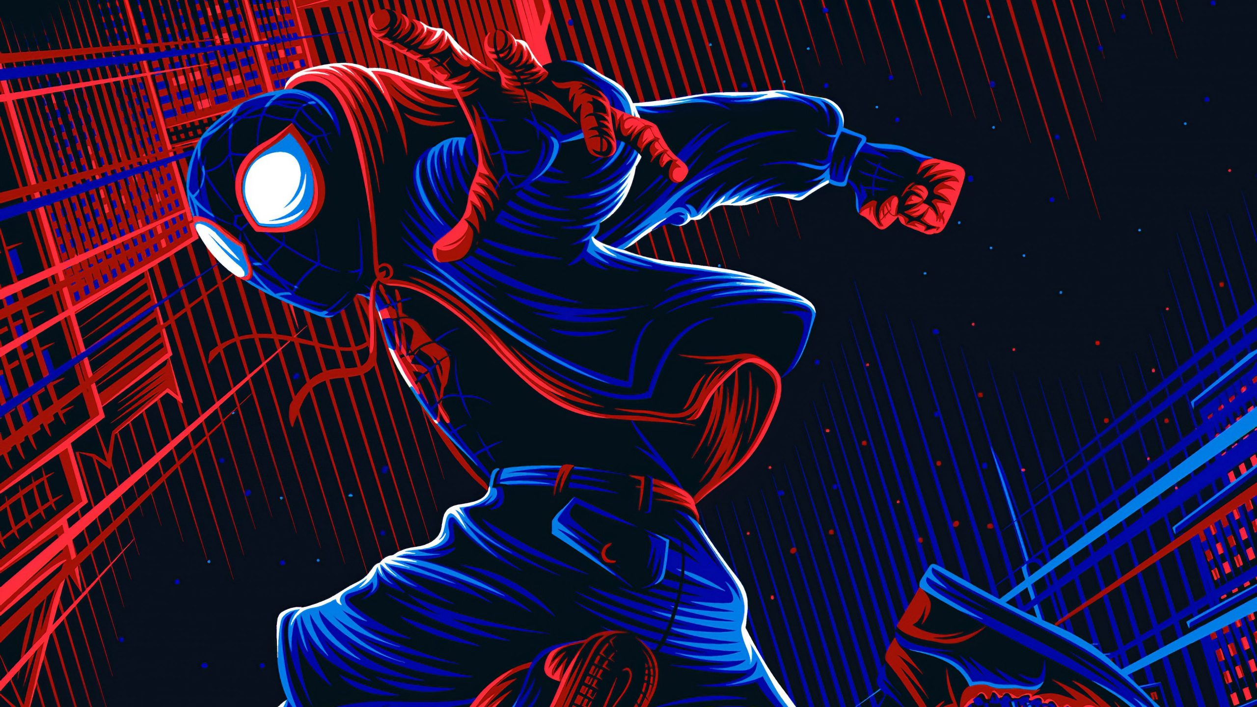 ps5 spider man miles morales 4k wallpapers