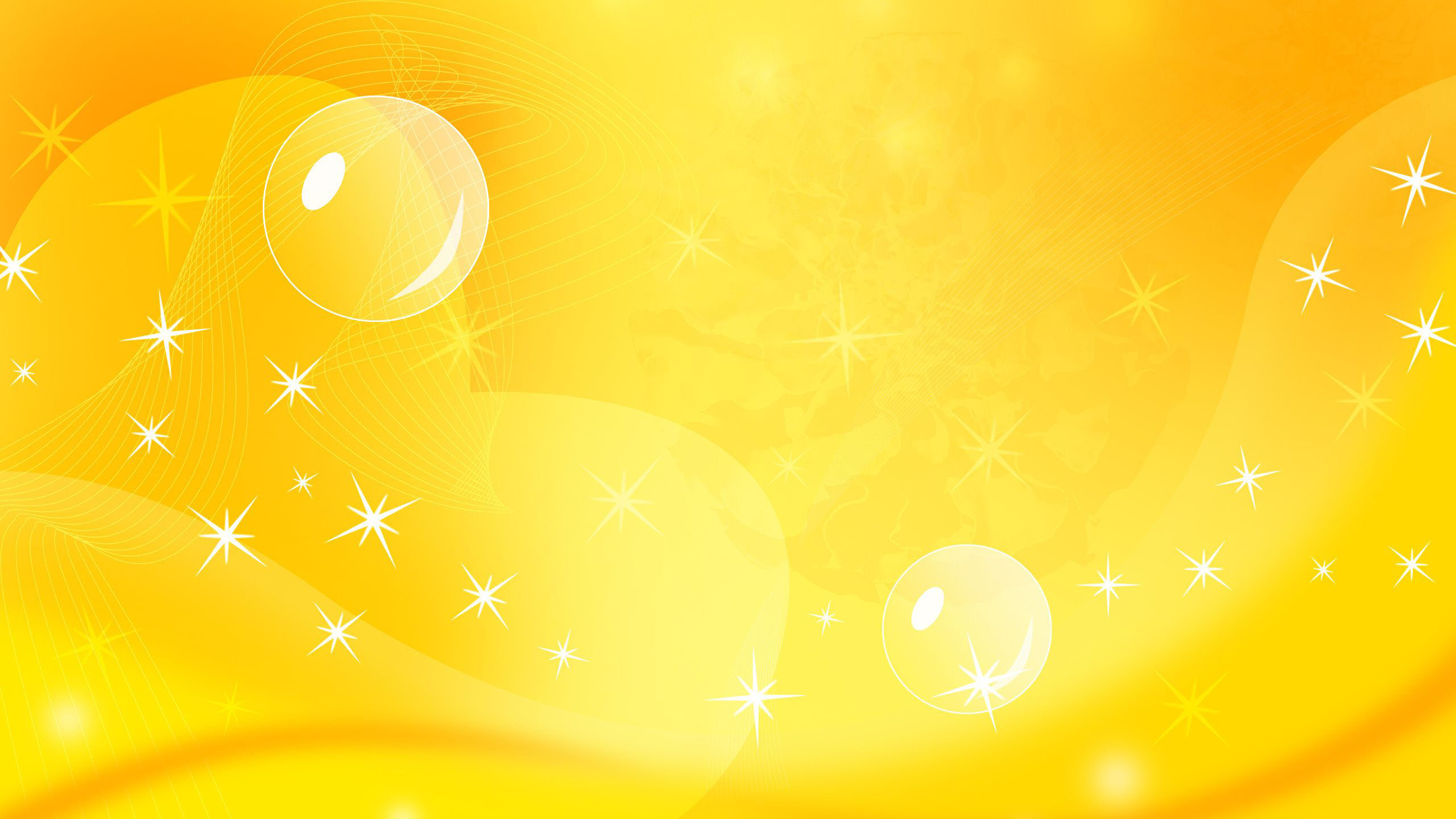 sparkling stars in yellow background hd yellow wallpapers