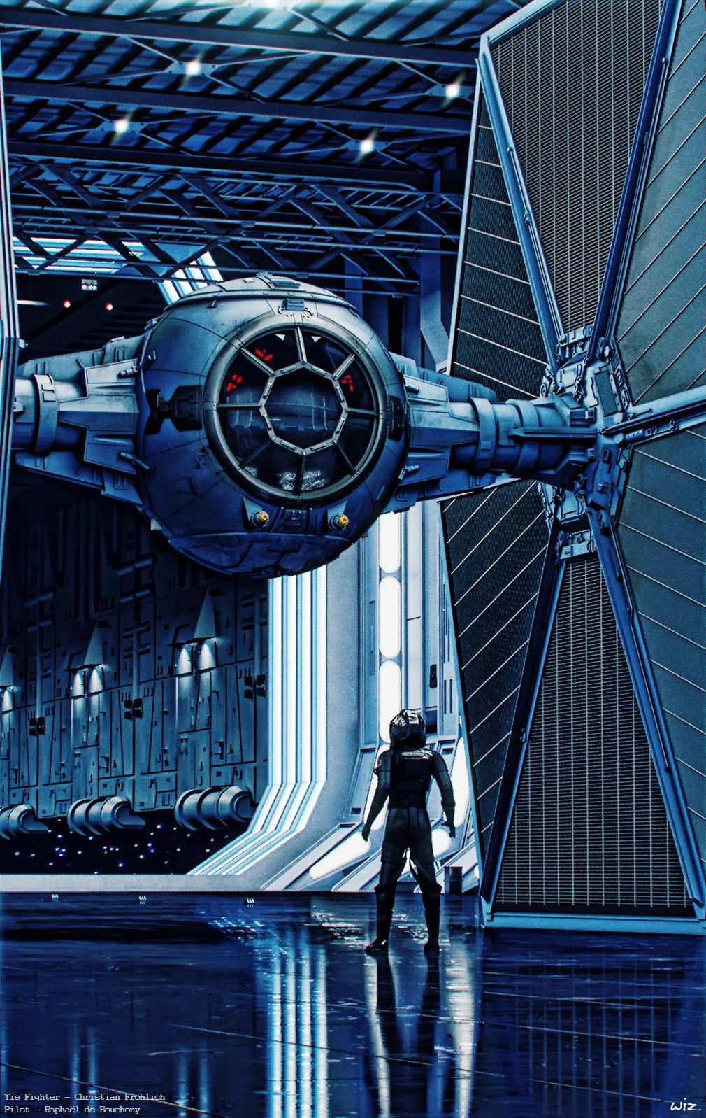 Check Out This Stunning Illustration The Millennium Falcon