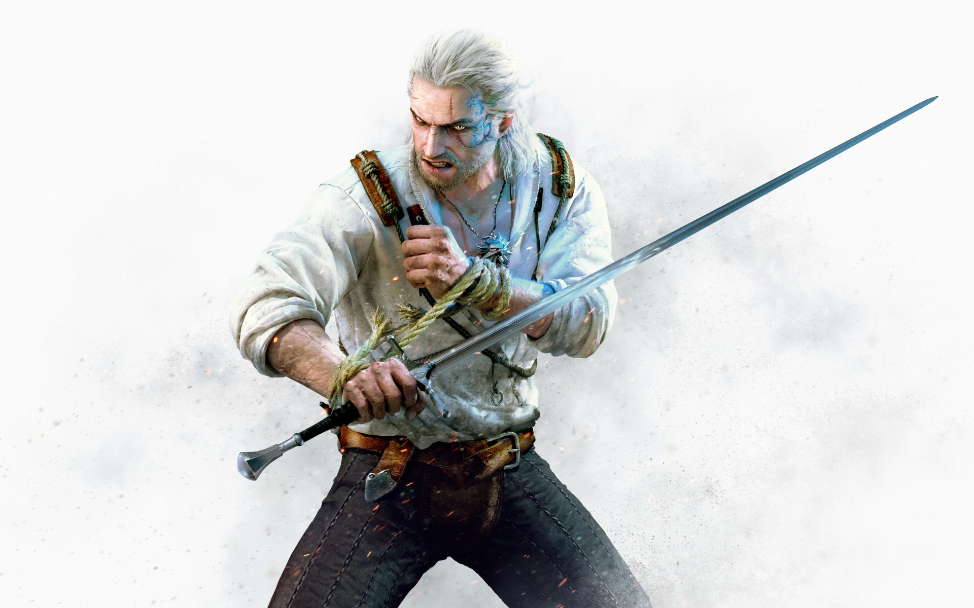 geralt the witcher 3 hearts of stone wallpapers