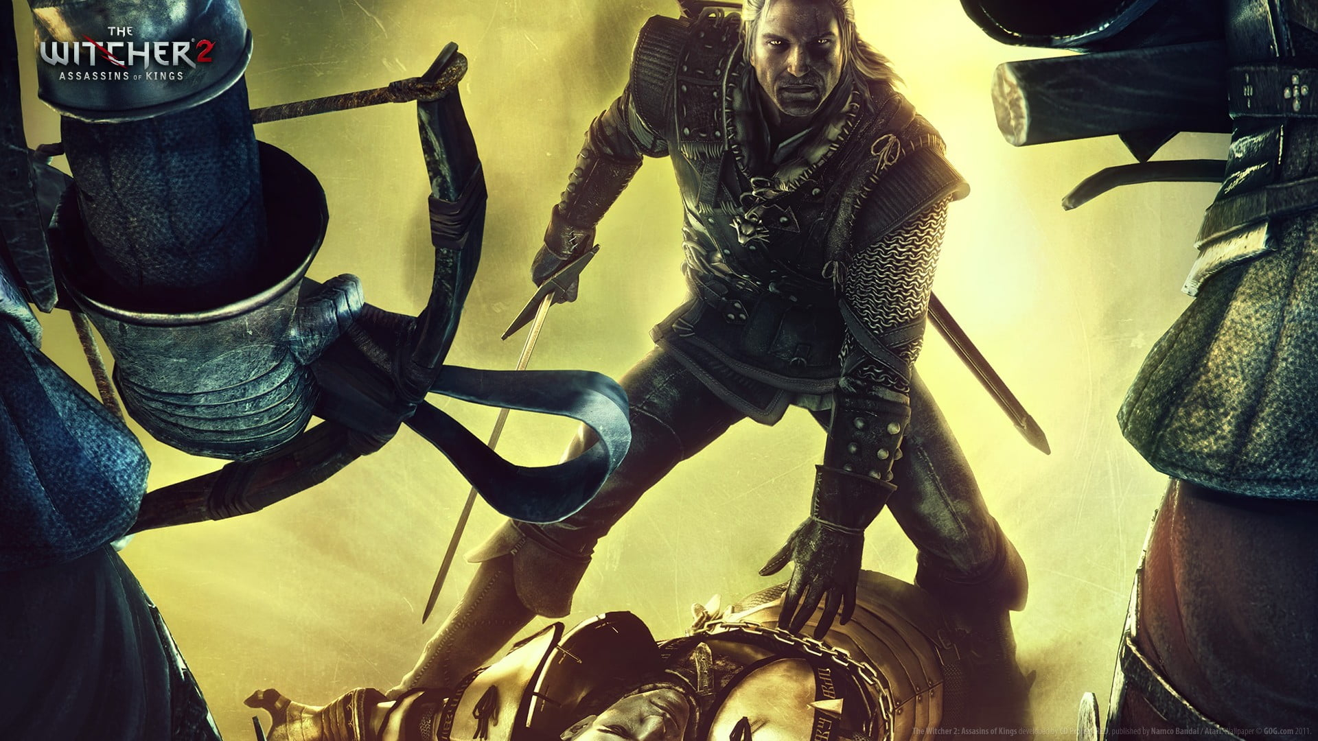the witcher 2 artwork the witcher 2 assassins of kings the witcher geralt of rivia wallpaper