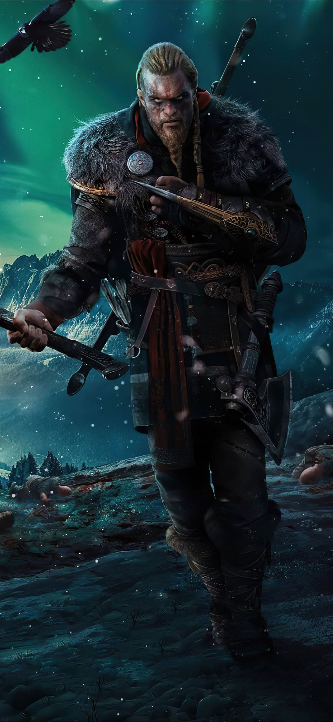 assassins creed valhalla 4k game iPhone 11 Wallpapers