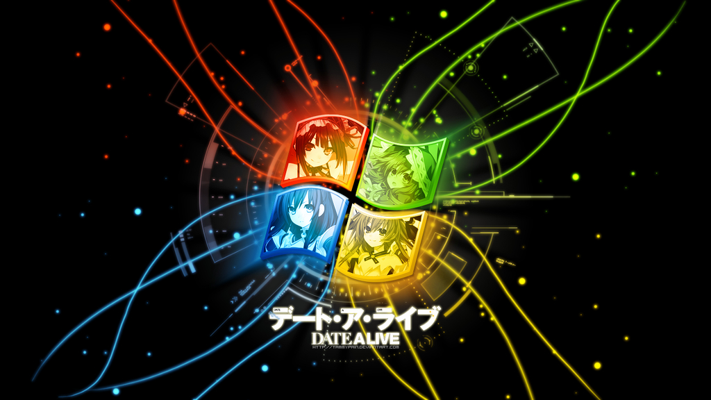 Windows 7 Date A Live Style by tammypain on DeviantArt