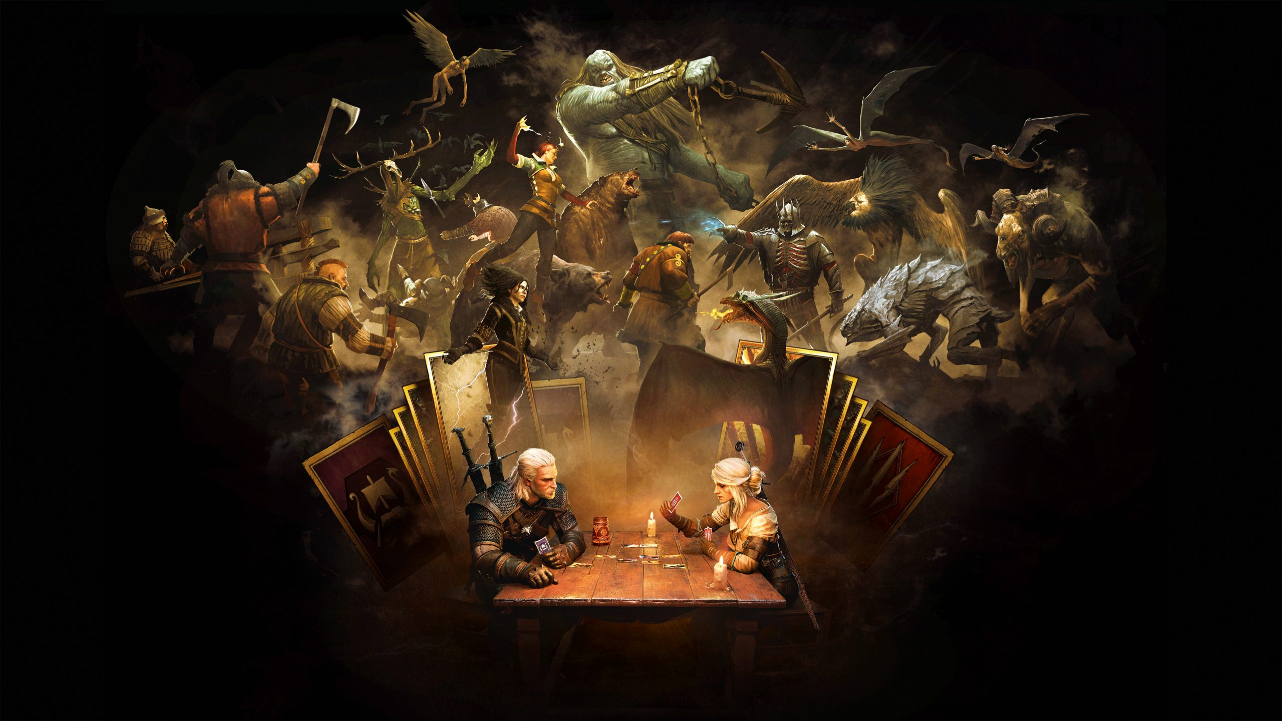 gwent witcher card game hd games 4k