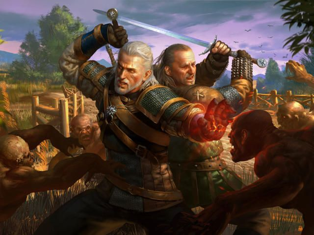 Vesemir The Witcher HD Wallpapers
