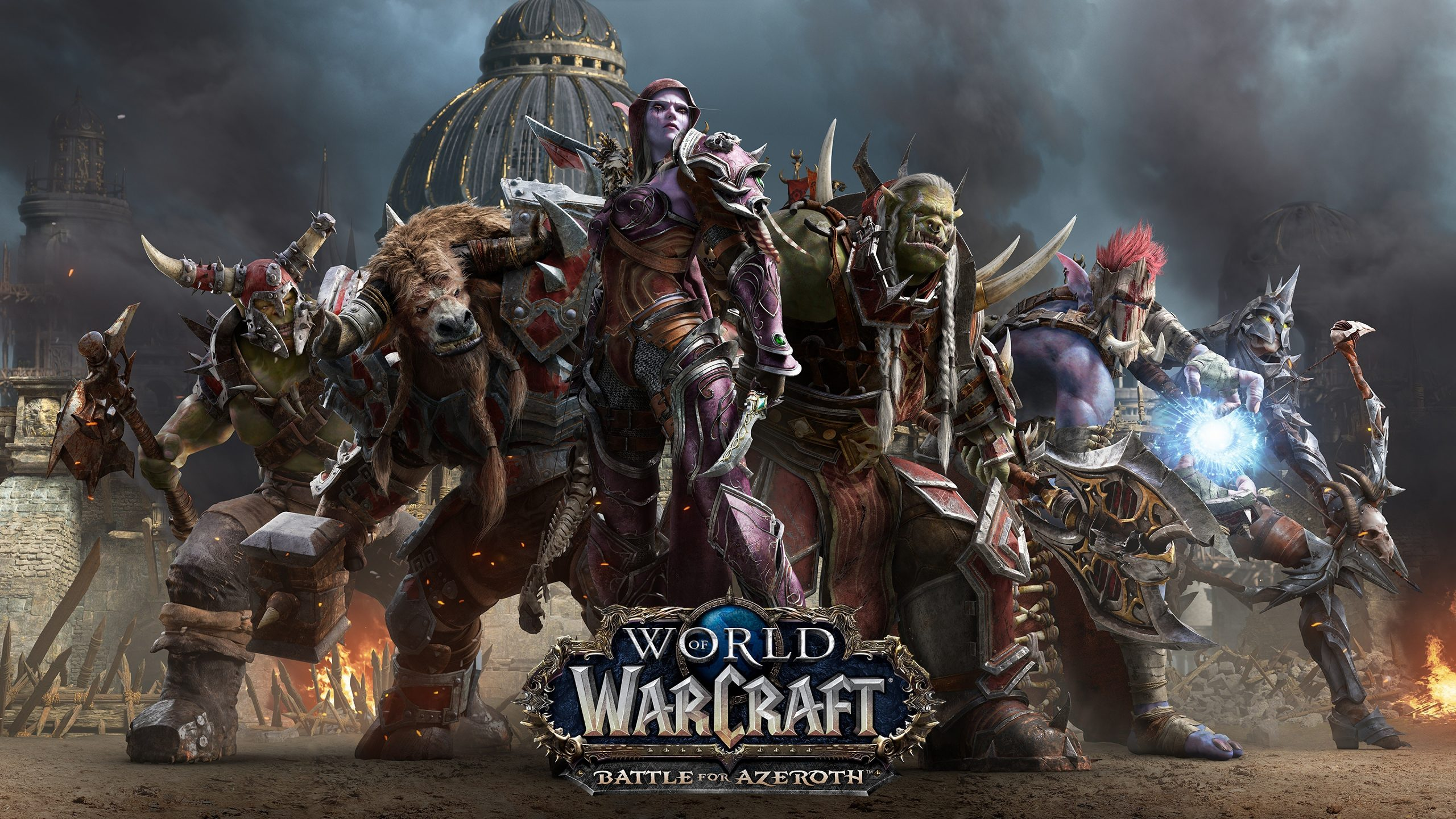World of Warcraft Battle for Azeroth hot game wallpapers